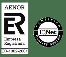 Certificado por AENOR