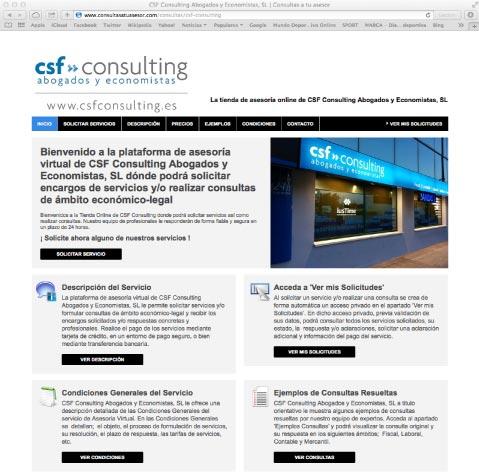 jemplo Plataforma Asesoria Online