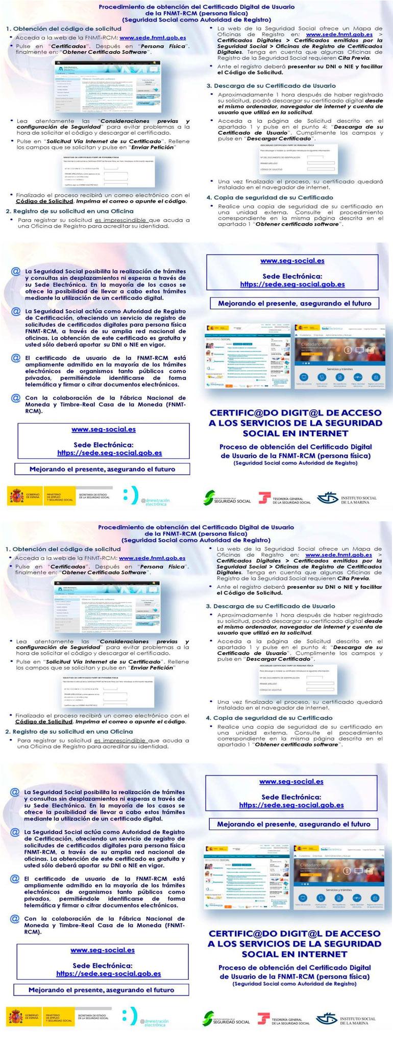 Procedimiento Obtención Certificado Digital