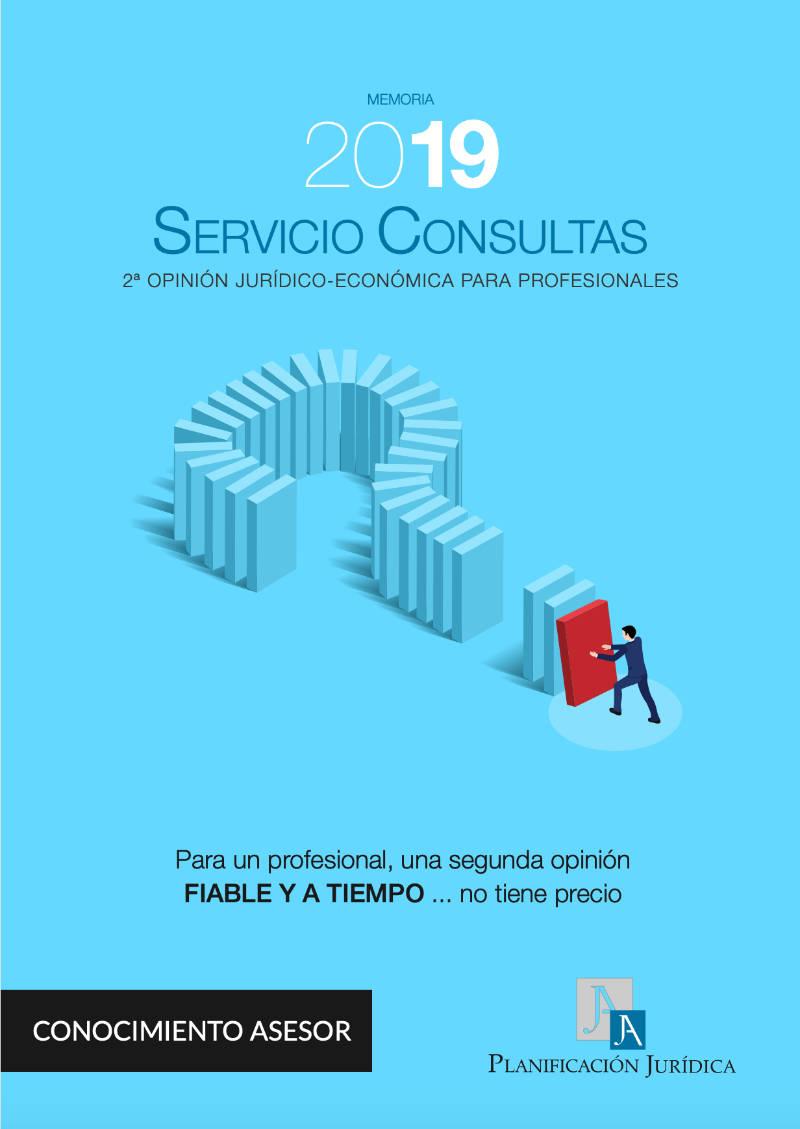 Portada Memoria Consultas 2019