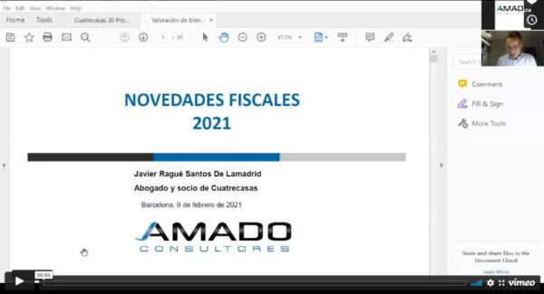 Webinar Novedades Fiscales 2021